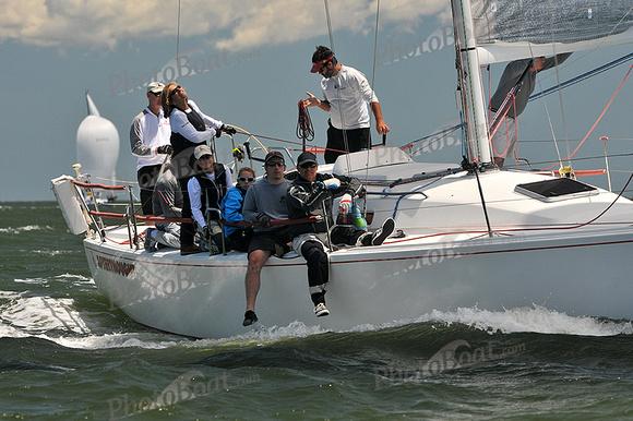 PhotoBoat.com: Afterthought &emdash; 2014 Southern Bay Race Week C 1872