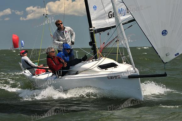 PhotoBoat.com: Vortex &emdash; 2014 Southern Bay Race Week C 1828