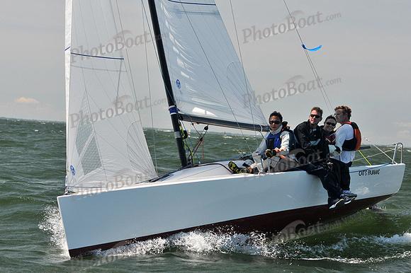 PhotoBoat.com: Cat's Pajamas &emdash; 2014 Southern Bay Race Week C 580