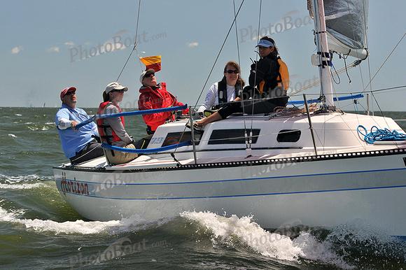 PhotoBoat.com: Horizon &emdash; 2014 Southern Bay Race Week C 1128