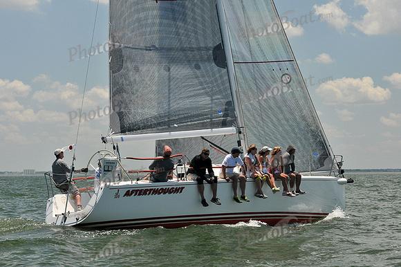 PhotoBoat.com: Afterthought &emdash; 2013 Southern Bay Race Week C 2232